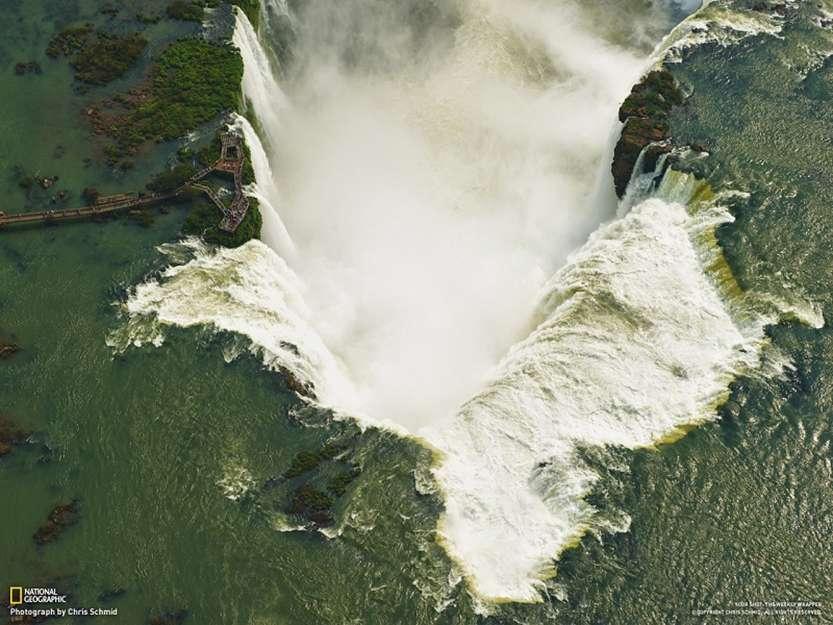 10-Водопады Игуасу. Вид сверху