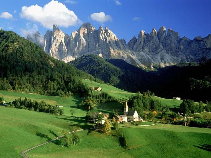 12-Доломитовые Альпы. Италия