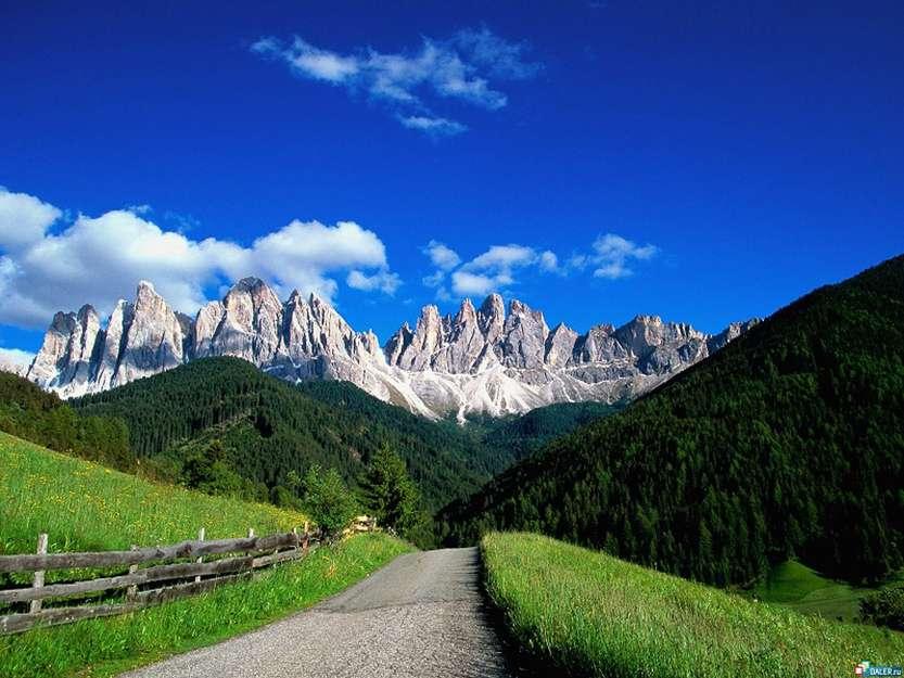 6-Доломитовые Альпы. Италия