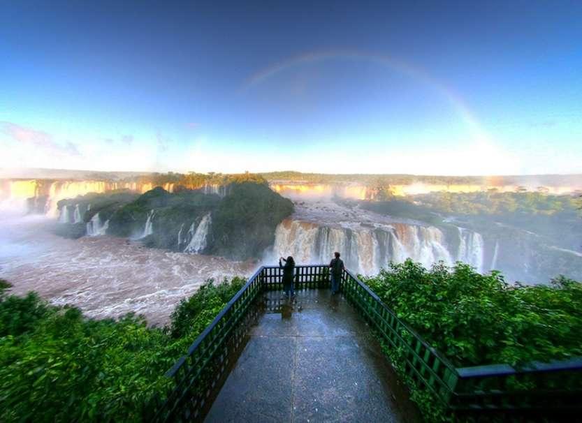 6-Водопады Игуасу