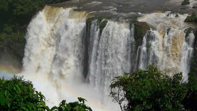 7-Водопады Игуасу