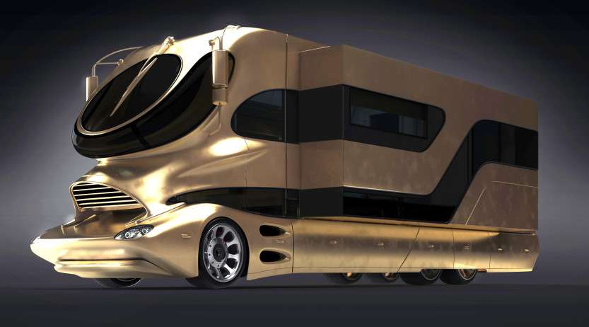 Worldd Most Expensive Campervan