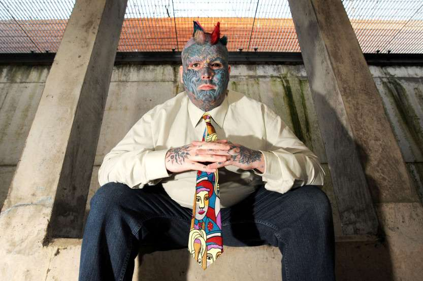 Britains Most Tattooed Man
