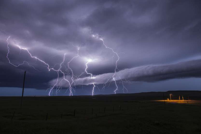 Storm Chaser Risks Life To Take Breathtaking Pictures
