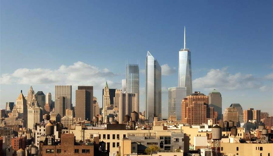 Башни-близнецы заменил мировой торговый центр