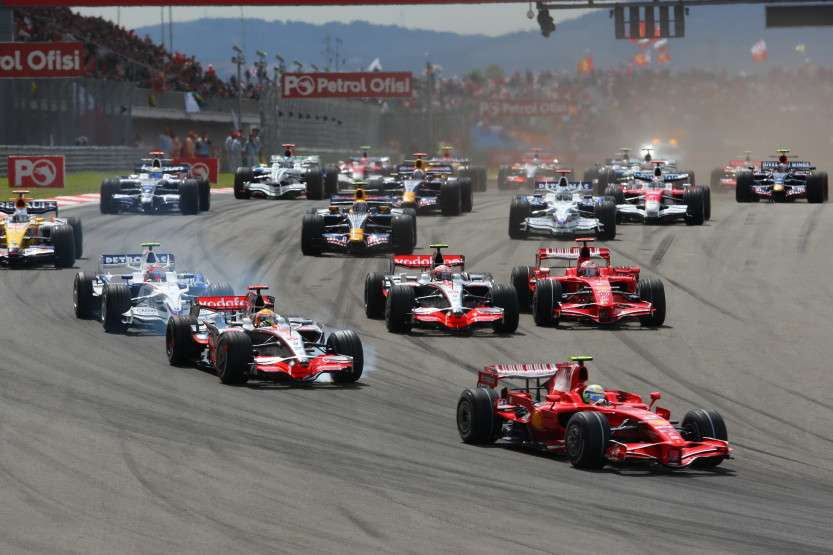 Turkish Formula One Grand Prix: Race