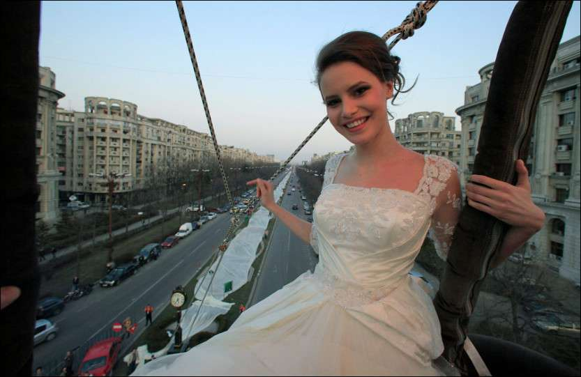 Самое длинное платье в мире