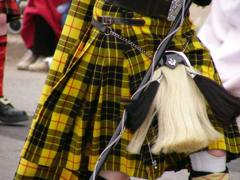 Почему шотландцы носят юбки?