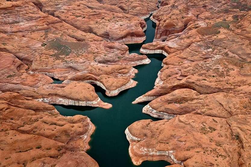 7-Озеро Пауэлл в США