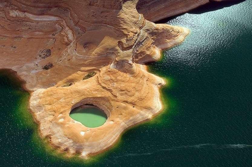 9-Озеро Пауэлл в США