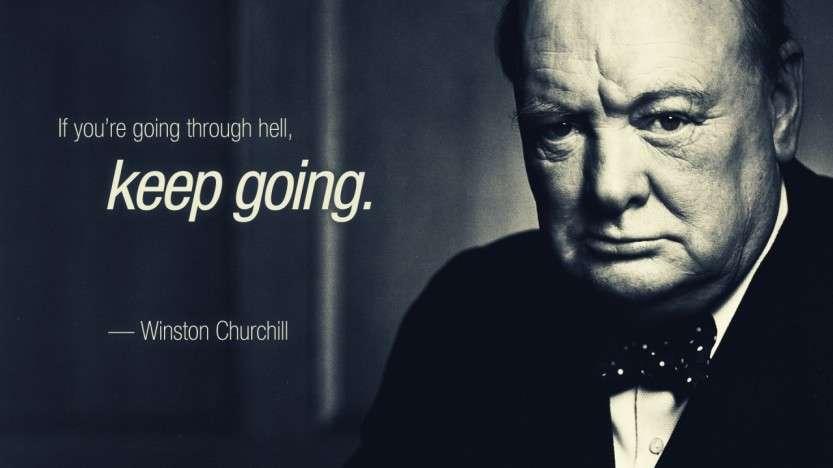 Как фотографировался Черчилль
