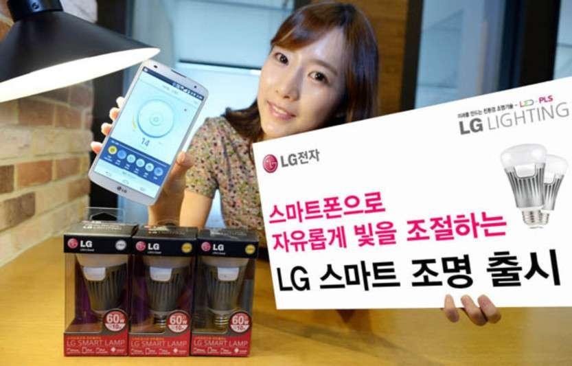 Удивительный гаджет от LG – умная лампочка
