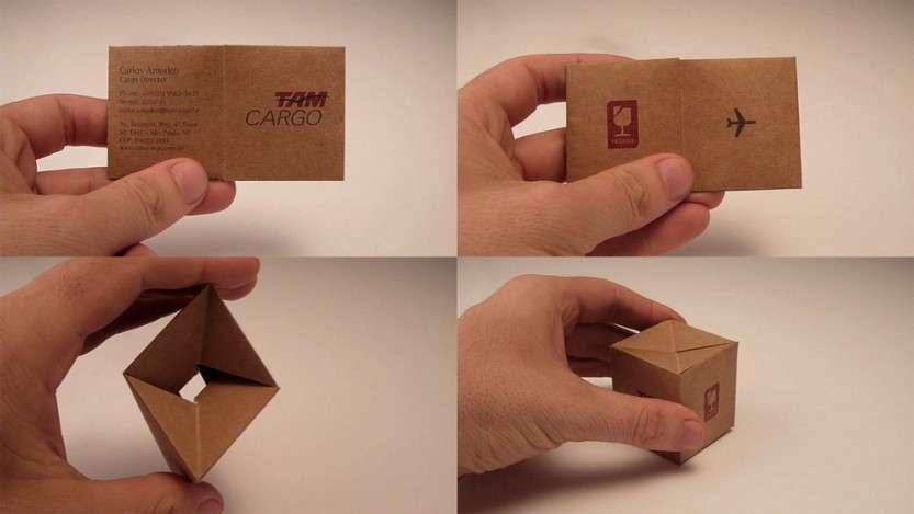 Какие бывают визитки?