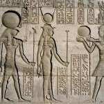 Уникальные рисунки храма Абидос