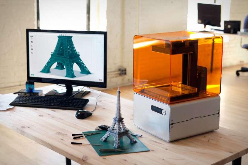 Первый 3D-принтер, печатающий углеволокном скоро будет продаваться