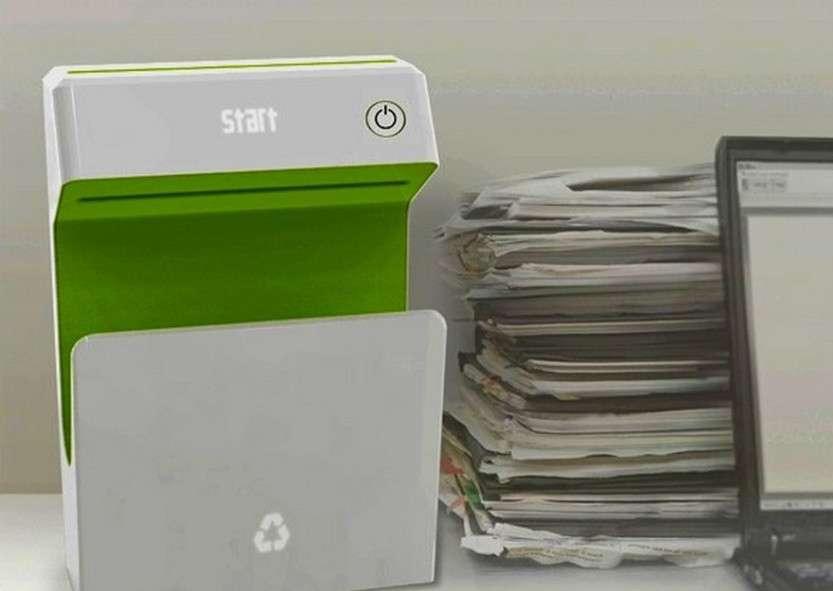 Принтер, стирающий информацию