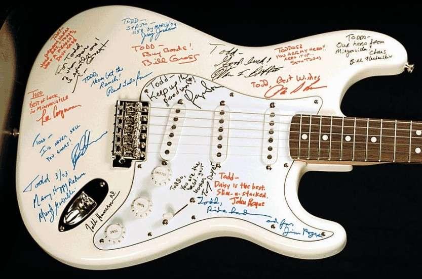 Самая дорогая гитара в мире