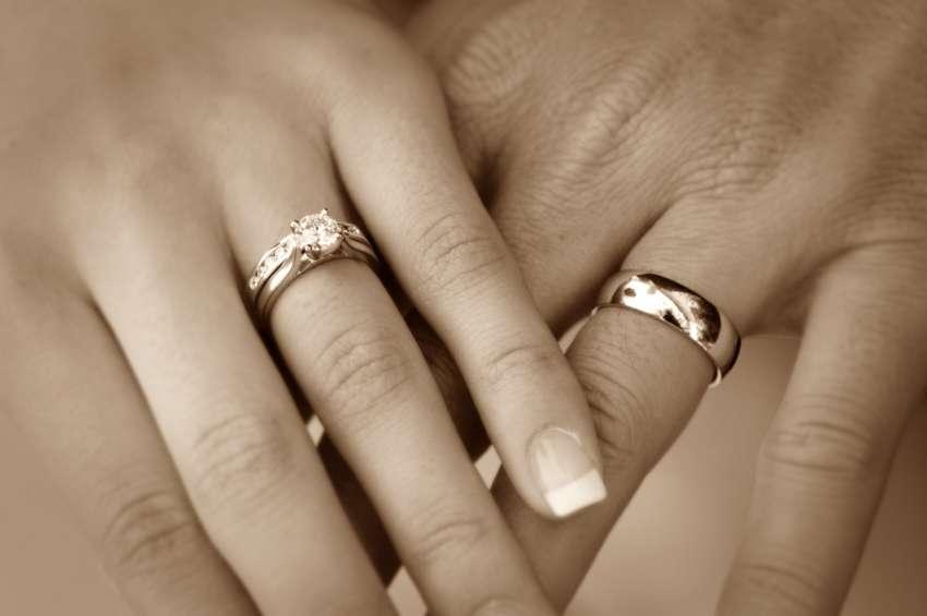 На какой руке носят обручальное кольцо в америке