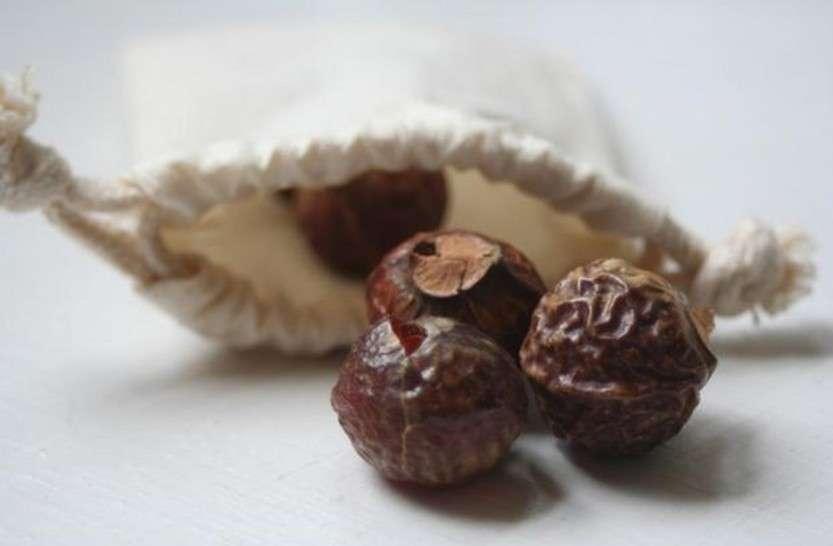 Использование мыльных орешков