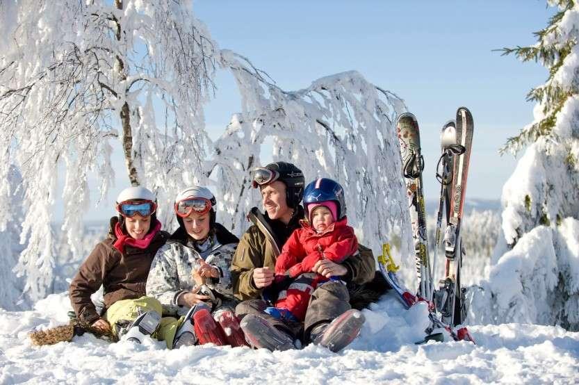 Vintersport, S?§fsen Dalarna.