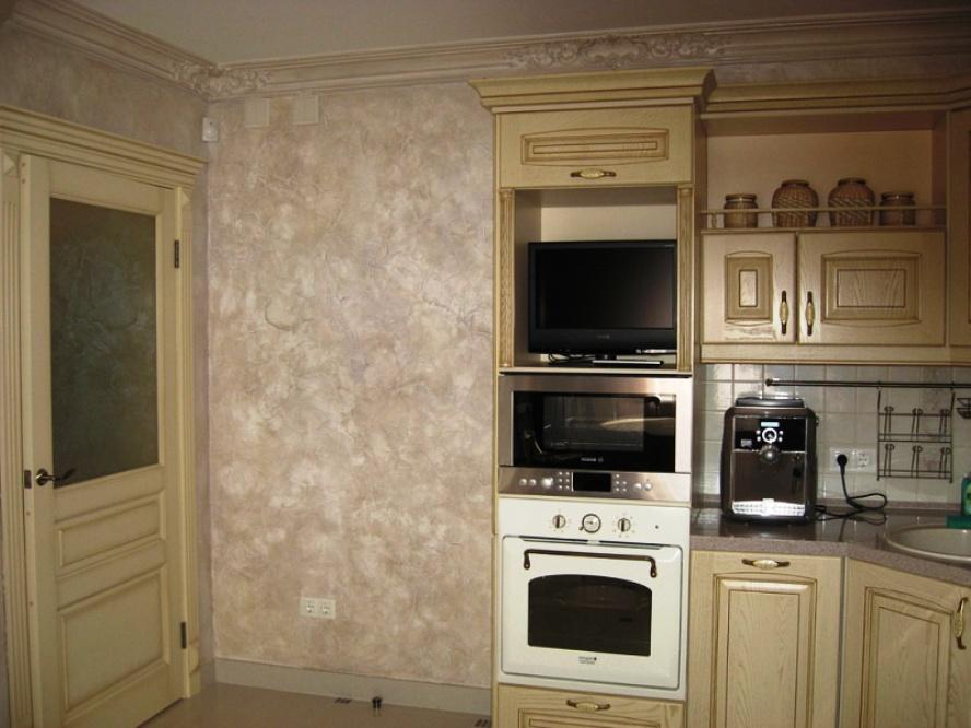 Какие обои выбрать для маленькой кухни и визуально увеличить ... | 666x888