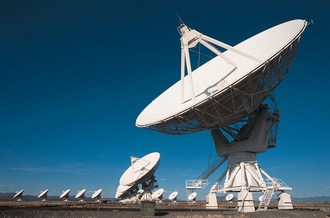 Very large array (VLA) radio telescopes, Soccorro New Mexico USA