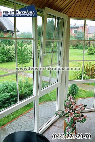металлопластиковые окна со шпроссами