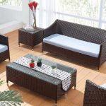 Плетеная мебель – отличный вариант для создания интерьера в эко-стиле