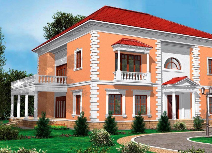 Как украсить фасад дома?