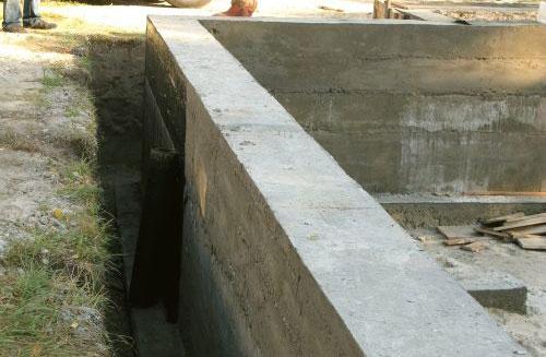 какой фундамент лучше для коттеджа где грунтовые воды