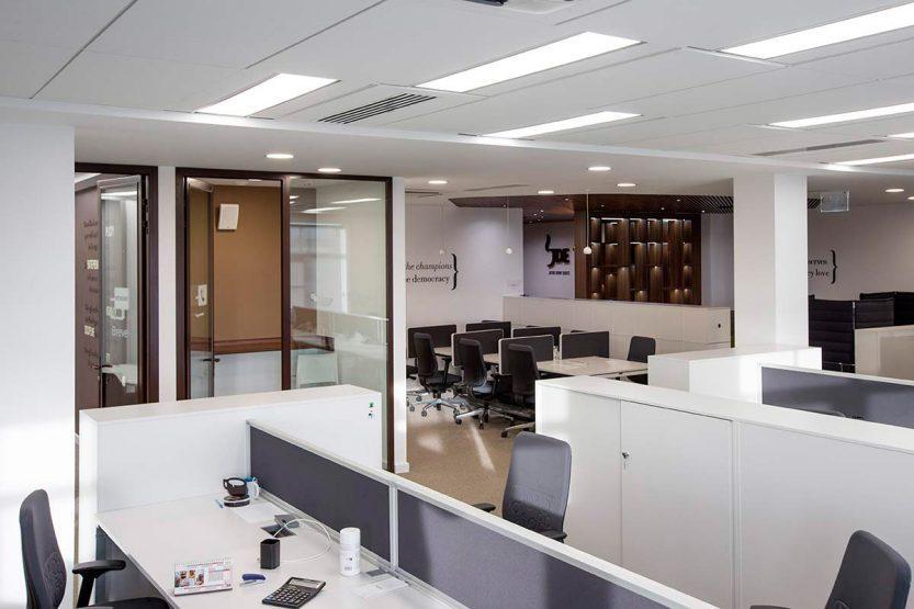 Ремонт офиса под ключ – ключевые преимущества