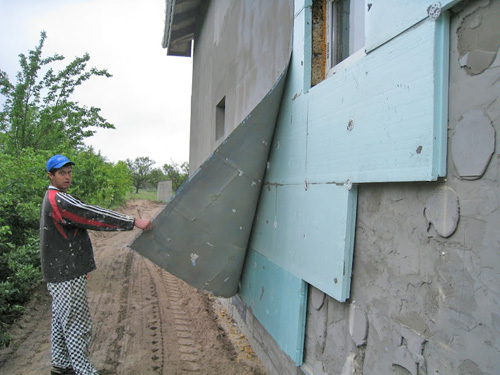 Используем для утепления строений плиты пеноплэкса
