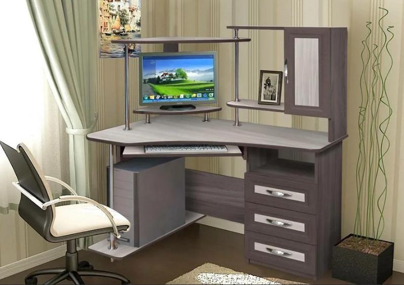 Выбор параметров компьютерного стола