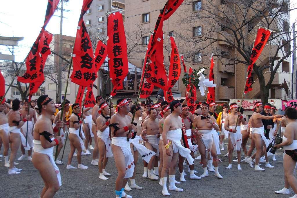 Что за Хадака Мацури у японцев?