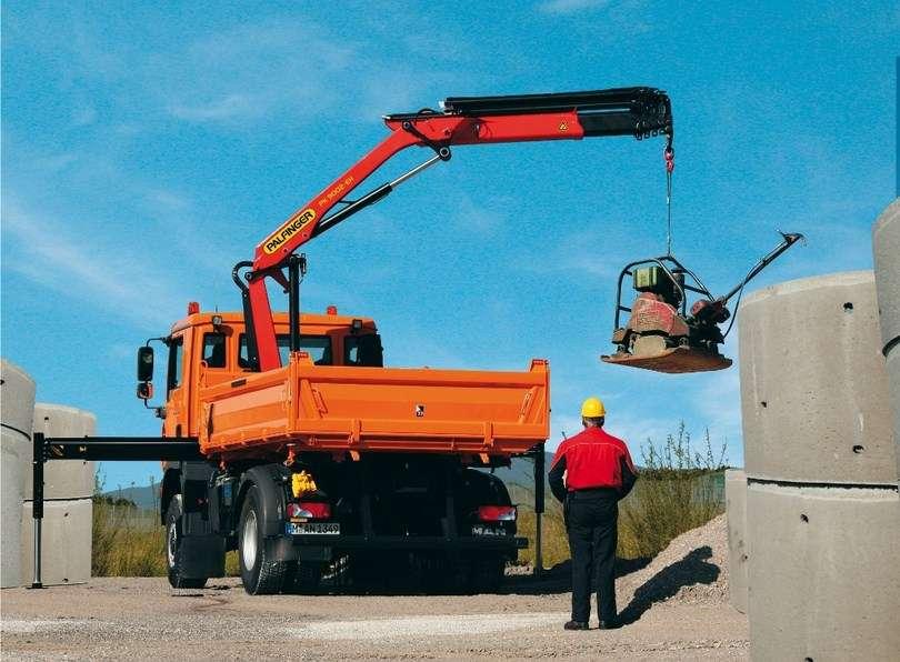Услуги крана-манипулятора в Волгограде для строительства нового дома