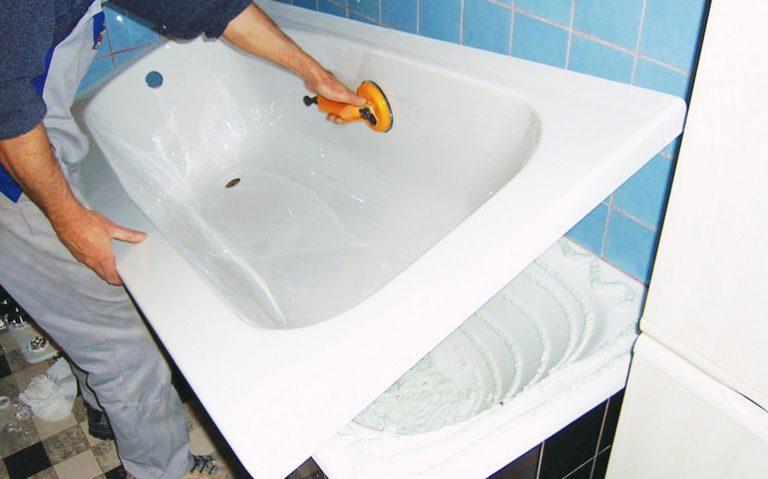 Как выбрать фирму по установке акрилового вкладыша в ванну по городу Тула